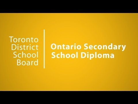 OSSD   Choices   TDSB