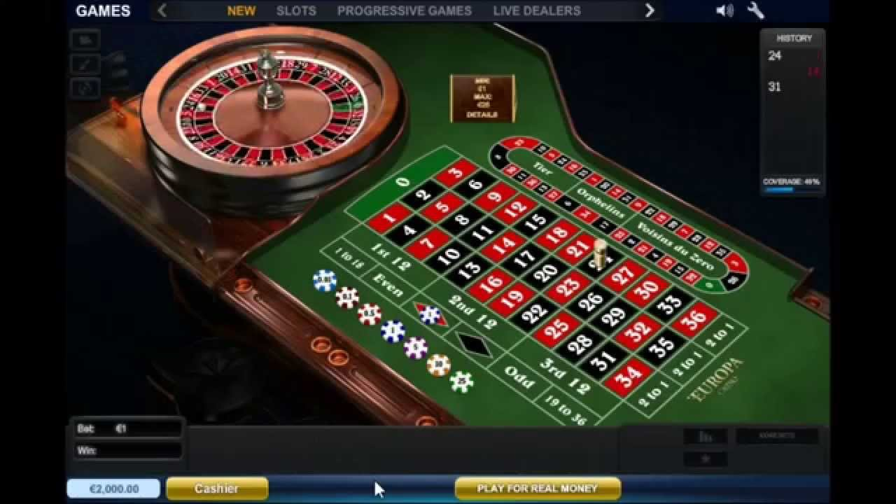 how electronic roulette works