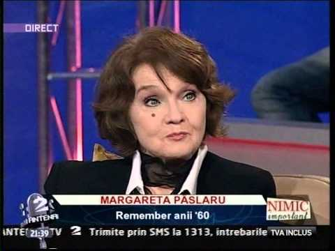 Margareta Paslaru -  interviu 2010