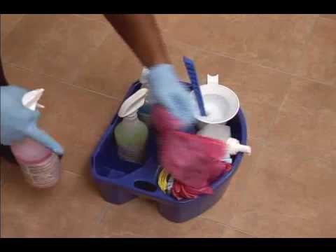 Ecolab - Public Restroom Cleaning Process - YouTube