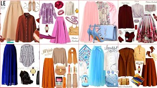 50+ way to wear long skirts Wi…