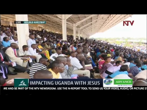 LIVE: PR.DR.TED WILSON VISITS UGANDA - WORLD LEADER OF SEVENTH-DAY ADVENTIST CHURCH