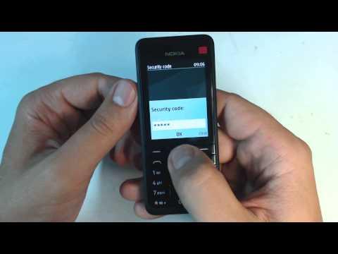 Nokia 301 factory reset