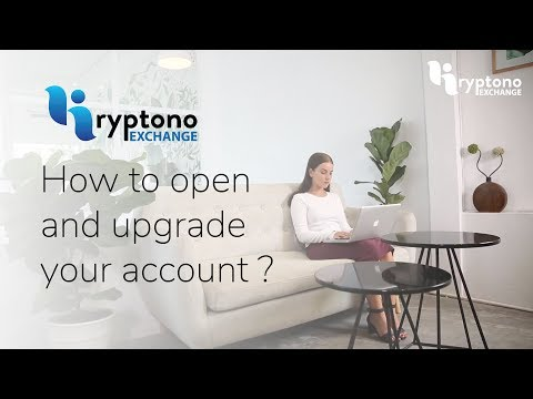 Kryptono Exchange- How to open and upgrade your account?