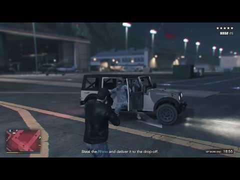 VIP Against The Military! GTA 5 online