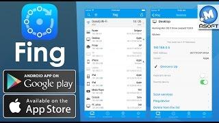 Fing – Network Tools | Wifi  تحميل برنامج لمعرفة المتصل بشبكتك | Msoft | (Darija)