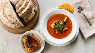 Tomato + Roasted Red Pepper Soup