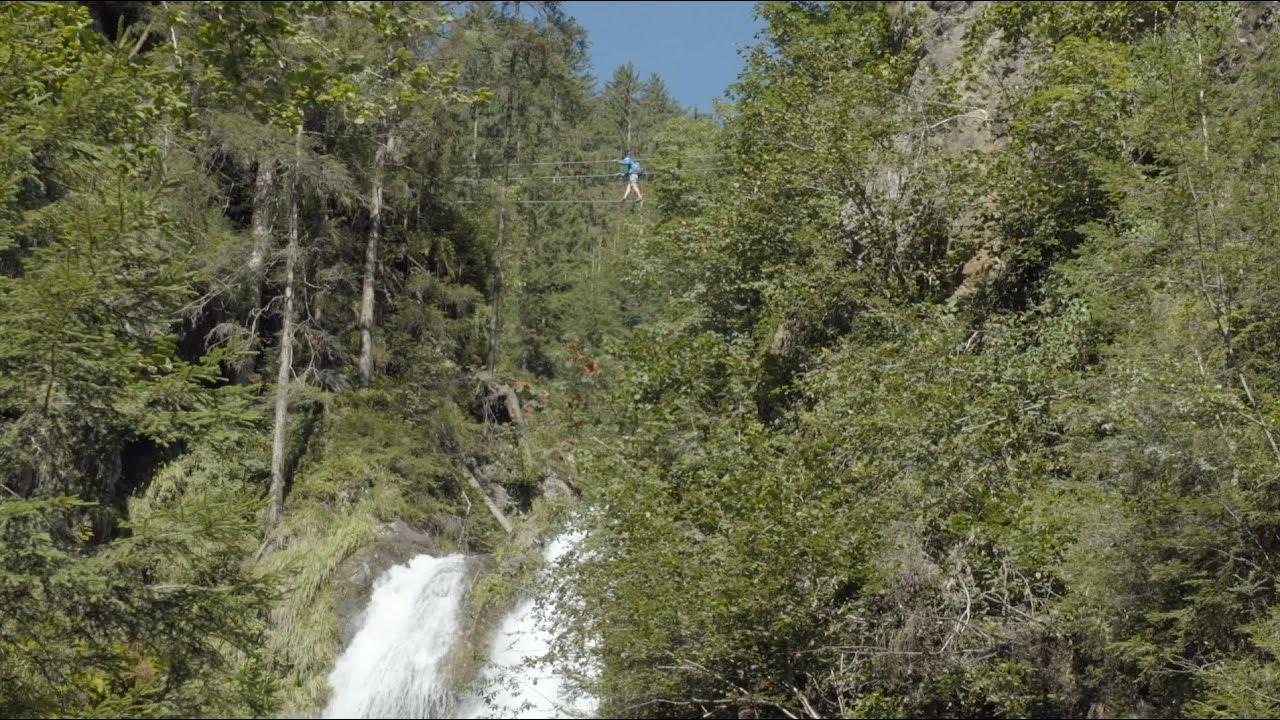 Klettersteig Talbach : Klettersteig talbach youtube
