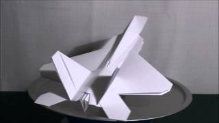 Paper Jet 'f-22 Raptor' Top Secret