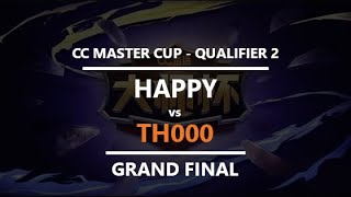 WC3 - CC Masters - Q2 - Grand Final: [UD] Happy vs. TH000 [HU]