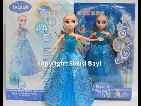 BONEKA BARBIE SMART ELSA PINTAR DISNEY FROZEN - YouTube 90814a3ef5