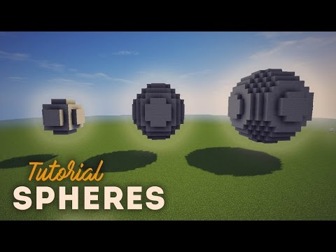 Minecraft Sphere Tutorial | NashCrafter