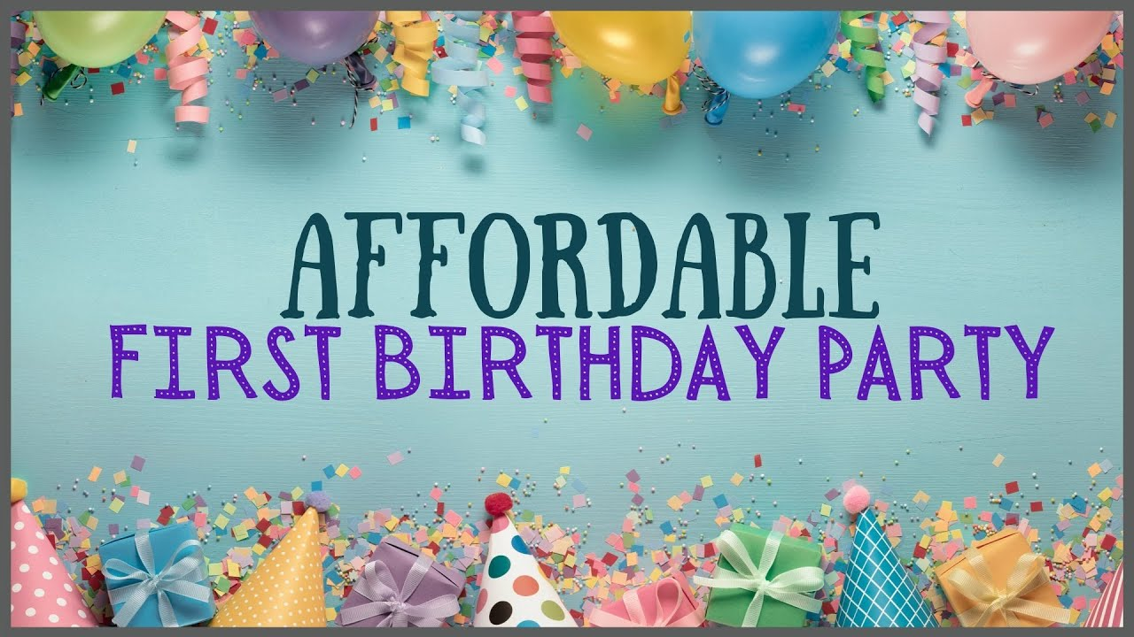 AFFORDABLE First Birthday for Baby| Dog Theme Birthday Party
