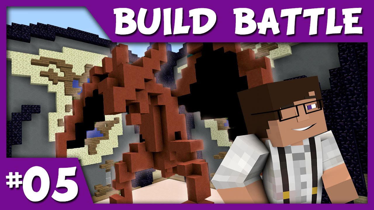 Minecraft Build Battle Tetris