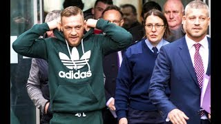 Conor McGregor Appears in Court and Pleads Guilty to Charges