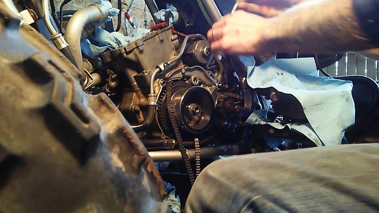 Yamaha 660 Raptor Changing Timing Chain Without Pulling
