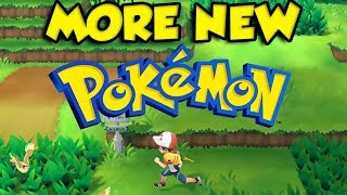 MORE New Pokemon In Pokemon Let's Go Pikachu and Eevee?