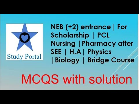Download (EPISODE-4) || NEB (+2) Science entrance | For Scholarship |Pharmacy after SEE | H.A| Bridge Course