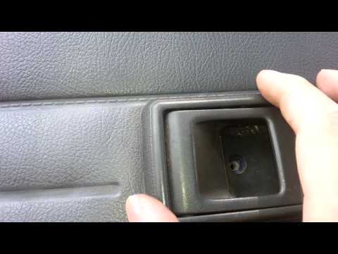 Toyota Hilux / Pickup / 4Runner Removal/Install Of Inside Door Handle