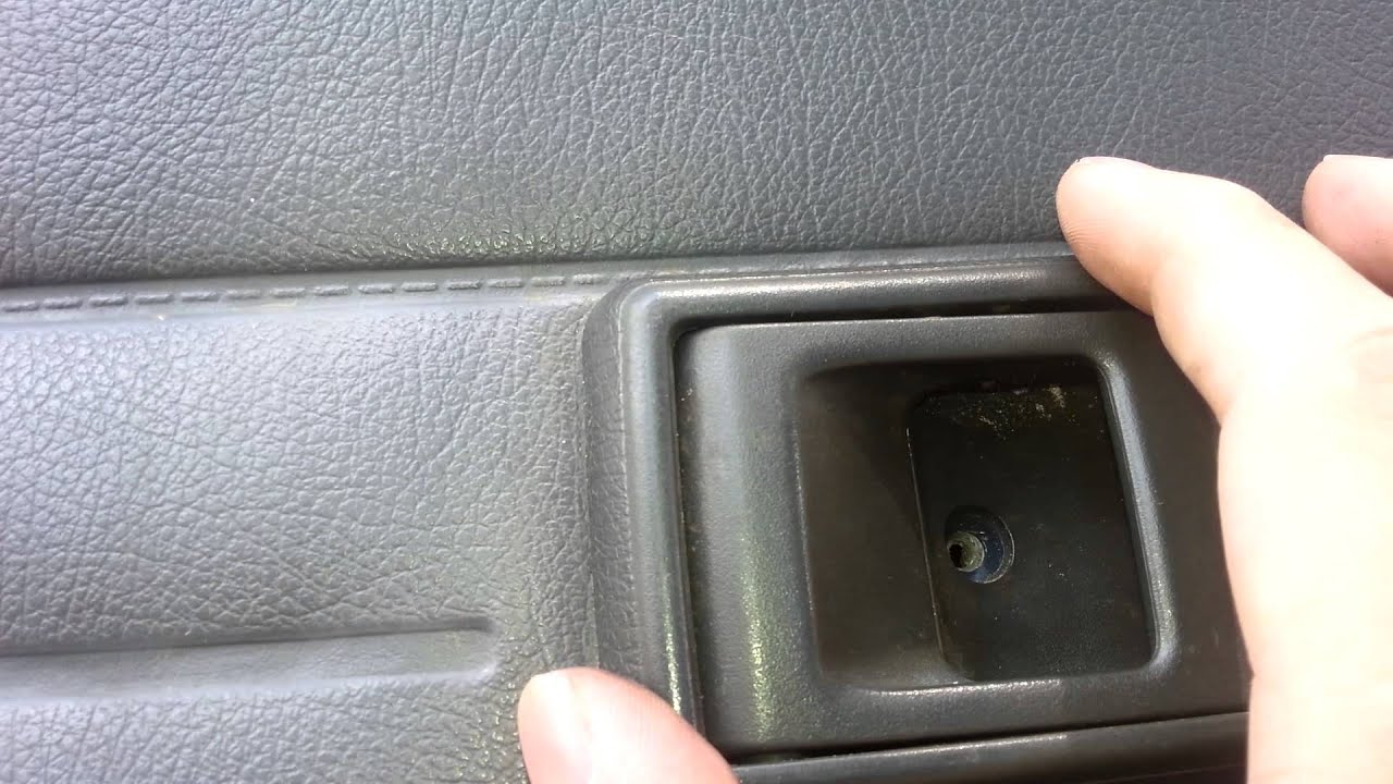 99 Tacoma Interior Door Handle