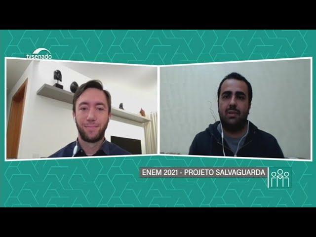 Enem 2021: Projeto Salvaguarda ajuda estudantes a conquistarem a aprovação