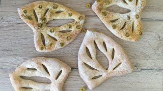 Французский хлеб Фугас Простой рецепт хлеба в духовке