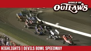 World of Outlaws Craftsman Sprint Cars | Devils Bowl Speedway 4/15/17
