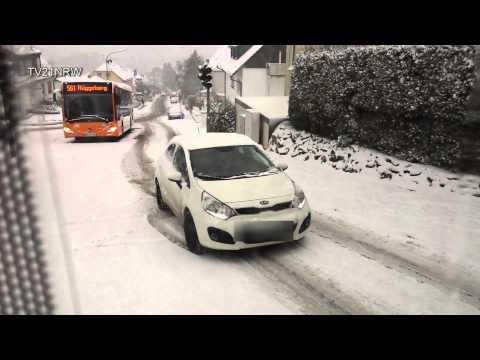 News: Schnee glatter Anstieg geht da noch was ? Ennepetal Homberge 24.1.2015