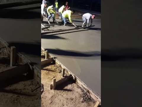 Tirando cemento en lousiana ( cementeros de hidalgo y coahuila)