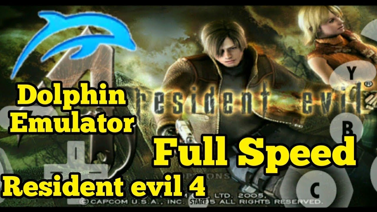 Dolphin emulator resident evil 4 full speed 60 fps ft asus Zenfone 5z