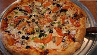 البيتزا الامريكية بطريقة سهلة وطعم روعة 100%