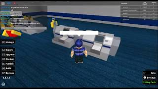 Roblox Retail tycoon! playthrough!