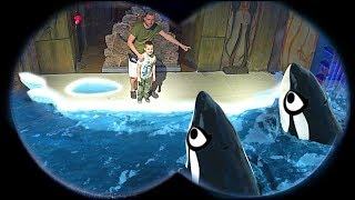 Timko and Papa Play with 3D Sea Animals | Aquarium Adventures for Kids
