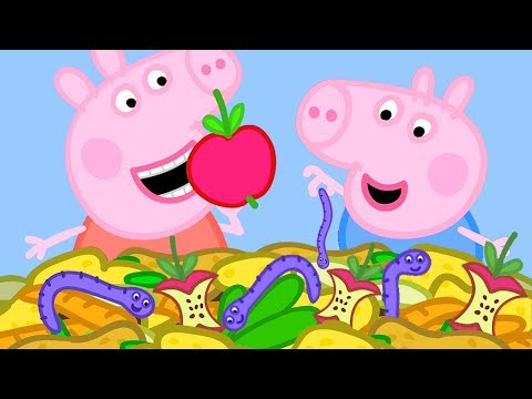 Peppa Pig Official Channel 🍎 Peppa Pig Loves Apples