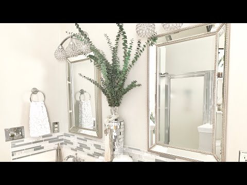 BATHROOM COUNTERTOP DECORATING IDEAS|DECORATE WITH ME