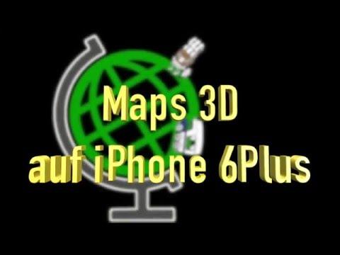 Maps 3D im Test auf Wanderung, App für iPhone, gefilmt mit GoPro Session 4 auf Selfie-Stick