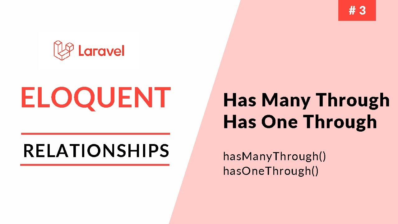 Laravel Eloquent Relationships - Has One Through & Has Many Through - Part 3