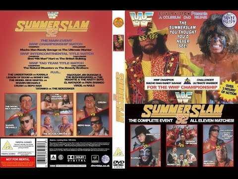 WWE (WWF) Summerslam 1992 Review    80,000 In Wembley Stadium    A Show You Thought You'd Never See!