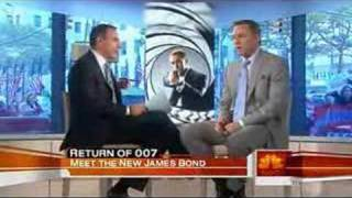 "Daniel Craig Interview from NBC's ""Today"" show - Nov.6, 2006"