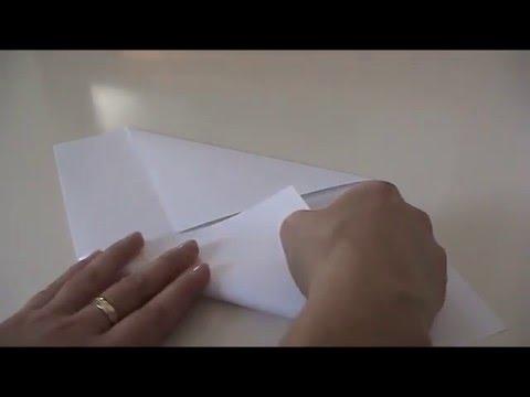 Anleitung Briefumschlag Selber Falten Youtube