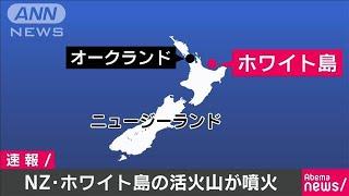 NZ・ホワイト島の活火山が噴火 少なくとも20人けが(19/12/09)