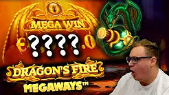 €20 Bet BIG WIN on Dragon's Fire Megaways!