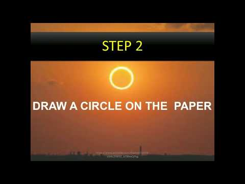 A SIMPLE METHOD TO WATCH SOLAR ECLIPSE AT HOME- BY LASER DIVISION, OPTOELECTRONICS, UoK