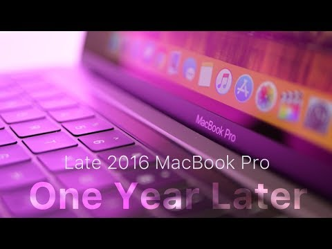 MacBook Pro 2016 - One Year Later