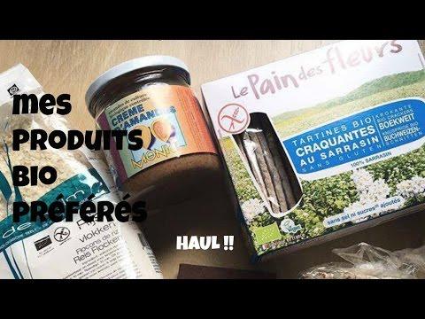 Mes produits BIO préférés pour une alimentation SAINE - By Pauline