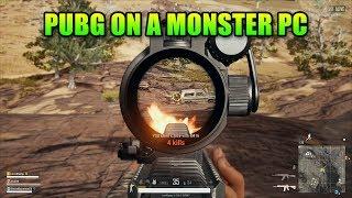 PUBG On My New Monster PC - 8700k + Titan XP