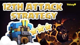 [꽃하마 vs Vatang] Clash of Clans War Attack Strategy TH12_클래시오브클랜 12홀 완파 조합(공중)_[#54_Air]