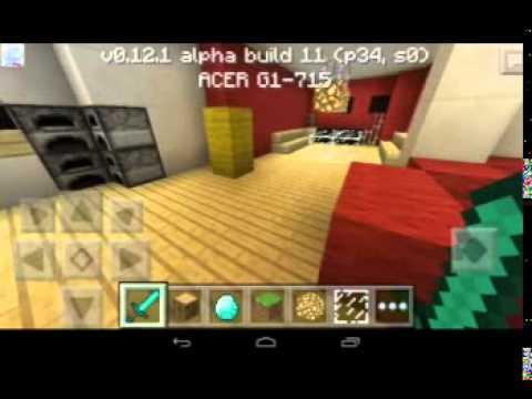 Casa Moderna Minecraft Pe Youtube
