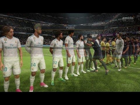 FIFA 2018 PC DEMO PSG VS REAL MADRID