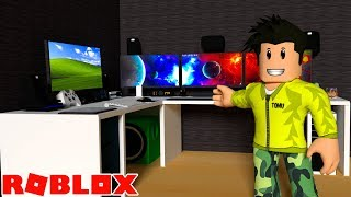BUILDS YOUTUBE OFFICE IN ROBLOX BLOXBURG